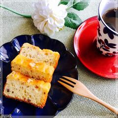 バウンドケーキ/コーヒータイム/フード コーヒータイム 昨日焼いた 胡桃とナツッ…