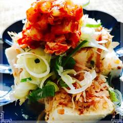 夜ご飯/お豆腐/節約/フード 昨日の 晩ご飯の 一品 トヨヒロさんの …