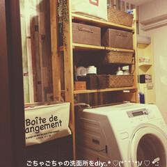 スリーコインズ/洗面所/DIY/100均/セリア/ダイソー/...
