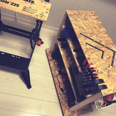 ブラックアンドデッカー/工具/作業台/垂木/1×4/OSB/... 先日購入したB&Dワークベンチのみで長い…