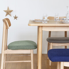 ダイニング/テーブル/チェア/椅子/ベンチ/カバーリング/... シンプルで使い勝手の良いダイニングシリー…(1枚目)