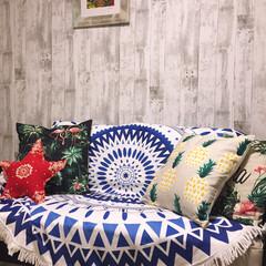 壁紙/西海岸/リメイクシート/ニトリ リメイクシートで和室をビーチハウス風に簡…