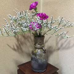 生け花 実家で母親が生けた花💐