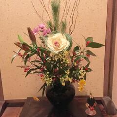 生け花/お正月 お正月🎍の生け花
