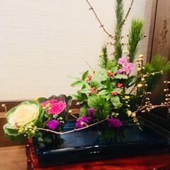生花/お正月 お正月の生花(1枚目)
