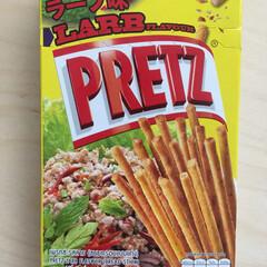 タイ/フード タイ🇹🇭のお土産  プリッツ ラーブ味⁉…