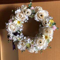 リース/わたしの手作り 令和の記念に(1枚目)