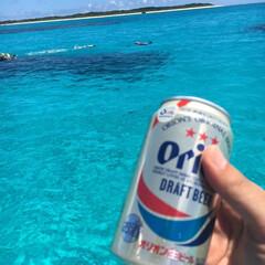 海/沖縄/小浜島/オリオンビール/スカイブルー/夏/... これ以上の完璧な組み合わせはない! オト…