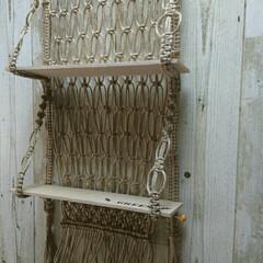 麻紐/メルカリ出品中 家事が終わって さぁ! 今日も 麻を編ん…