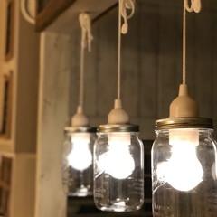 ライト/DIY/雑貨/100均/セリア/インテリア/... セリアさんのライトで!