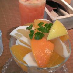 福岡/パフェ/フルーツ フルーツいっぱいのパフェ♪さっぱりいただ…