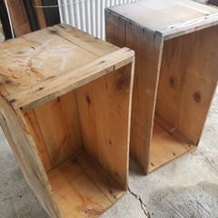 満足/多肉棚DIY/多肉棚/DIY/雑貨 リンゴ箱で、冬用の多肉棚を作りました🔨 …