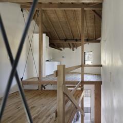 無垢材/シンプル/モダンジャパニーズ 仕切る壁のない大きなワンルーム