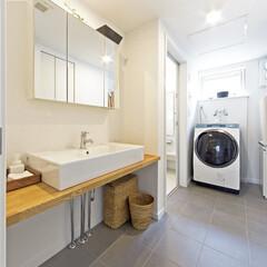 UT/洗面台/洗濯室 清潔感あふれるUT