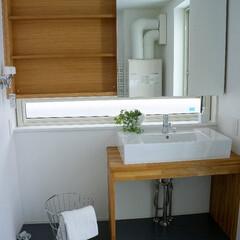 洗面/洗面ボウル/ホテルライク/洗面化粧台 ホテルライクな洗面台。