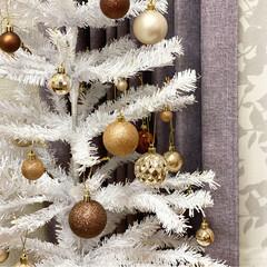 スリーコインズ/スリコ/3COINS/オーナメント/ツリー/クリスマス/... クリスマスツリー🎄   今年のツリーは …