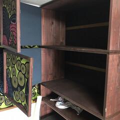 収納棚/フォロー大歓迎/DIY/インテリア/家具/収納 収納棚DIY  天井に梁が出ていたので転…(3枚目)