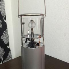 アウトドアランタン ユニフレーム フォールディングガスランタンUL-X クリアモデル | ユニフレーム(ガスランタン)を使ったクチコミ「ユニフレームのランタン。  なかなかの明…」