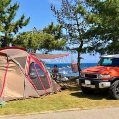 キャンプ/海/海キャンプ/サーフィン/スノーピーク/snowpeak/... 今年の夏たくさん行った海キャンプ
