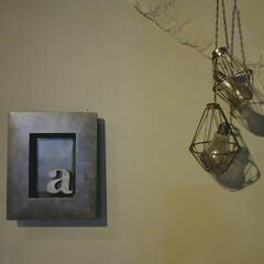 インダストリアル/DIY/オブジェ/インテリア/100均リメイク/100均/... 電球オブジェです☆ ホームセンターで売っ…