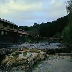 旅行/癒し/温泉 大分県の長湯温泉にある『ガニ湯』です☆こ…