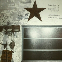 ステンシル/窓リメイク/壁リメイク/リメイク/DIY/インテリア 和室改造で リメイクした壁と窓☆