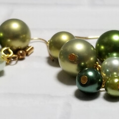 クリスマスプレゼント/クリスマスパーティー/高見えアクセサリー/プチプラ/クリスマス2019/ハンドメイド/... 購入ご希望の方は、こちらへ🎵@mamac…(6枚目)