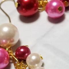 クリスマスプレゼント/クリスマスパーティー/高見えアクセサリー/プチプラ/クリスマス2019/ハンドメイド/... 購入ご希望の方は、こちらへ🎵@mamac…(5枚目)