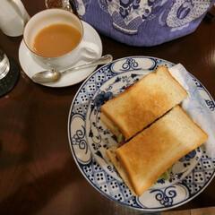 喫茶おとら/ツナとディルのサンドイッチ/サンドイッチ/紅茶専門店/アールグレイ/本駒込/... ずっと行きたいと思っていた紅茶専門店へよ…