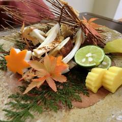 源氏香/松茸/日本料理 今年初の松茸を堪能。やっぱりこの季節に一…