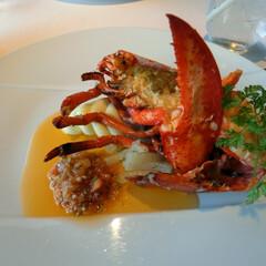 ホテルオークラ東京/ラ・ベル・エポック/フレンチ/オマール海老/誕生日 少し早いですが、バースデーディナーに行っ…