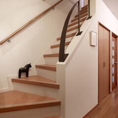 インテリア/住まい/リフォーム/リノベーション/インテリアデザイン/インテリアコーディネート/... 戸建の階段をリフォーム。薄暗かった階段ホ…