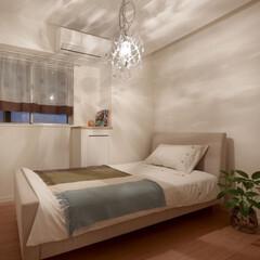 インテリア/住まい/リフォーム/リノベーション/インテリアコーディネート/インテリアデザイン/... 賃貸マンションのリノベーション。 寝室は…