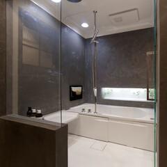 インテリア/住まい/リフォーム/リノベーション/インテリアデザイン/インテリアコーディネート/... ガラス張りでホテルライクな浴室リフォーム…