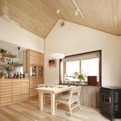 リフォーム/リノベーション/住まい/インテリア/インテリアコーディネート/インテリアデザイン/... 2階のもと寝室の小屋裏を取り払い、開放的…