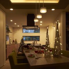 クリスマス/キッチン/インテリア/住まい/リフォーム/建築/... 【ミサワリフォーム株式会社 】  クリス…