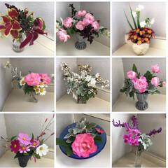 花/ささやかな愉しみ/癒しの空間/アレンジメント オフィスビルの共用WCの洗面台に、お花を…