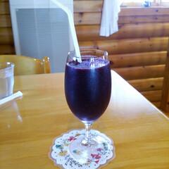 ブルーベリージュース ブルーベリー100%のジュースです スト…