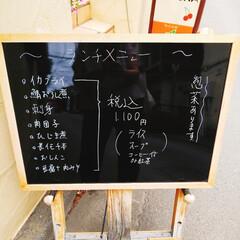 ランチ/SAKURA/八王子 今日は、胃カメラ、マンモグラフィ、超音波…