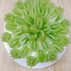少し早い誕生日ケーキ/シャインマスカットショートケーキ/オーナー手作りのケーキ/ベリーコテージ こんばんはー 久しぶりの投稿😅 今日は秋…