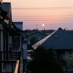 朝やけ おはようございます😄 朝日が綺麗だったの…