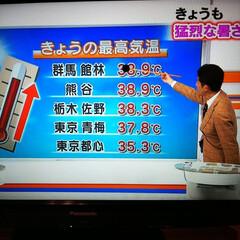 最高気温更新 東京都青梅市はまた最高気温更新しましたよ…