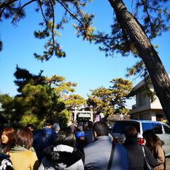 ♯初詣/冬 1/1に近所の神社へ初詣✨ やっぱり冬の…