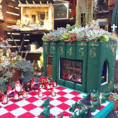フェアリーガーデン/トムテ/モルタルアート/モルタルデコ/ガーデン/ガーデニング/... 北欧の妖精トムテの図書館をイメージしてモ…