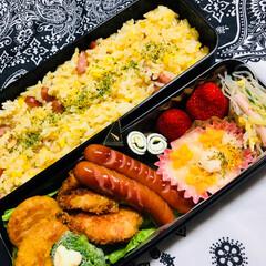 ランチ/男子高校生お弁当 おはようございます😁✌️ 今日は朝から久…(1枚目)