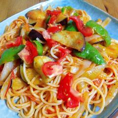 旦那弁当/夏野菜/ナポリタン/豚丼/お弁当/ハンドメイド/... ☀️💥💦暑くてもしっかり食べましょう😊バ…(3枚目)