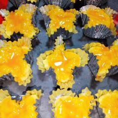 スィーツ/ミルキー/ホワイトチョコ/スィートポテト/お菓子作り スイートポテト🍠🥧 (. ❛ ᴗ ❛.)…
