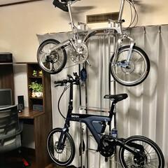 自転車/リビングあるある 我が家のリビングには自転車おいてます!