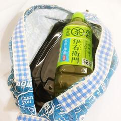 ♡ハンドメイド♡/エコバッグ 最近よく見る シュパッとたためるエコバッ…(2枚目)
