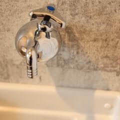 トイレ/水栓/手洗い/カントリー 「誰や!ホースの先踏んでんのん?」という…
